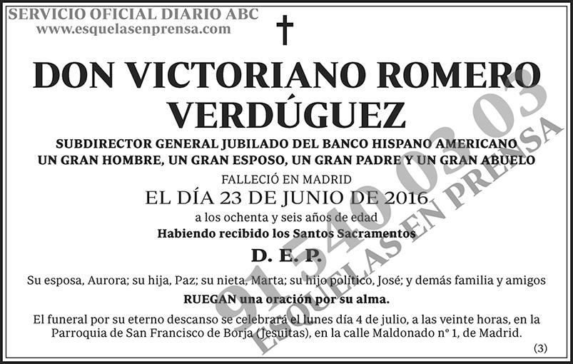 Victoria Romero Verdúguez